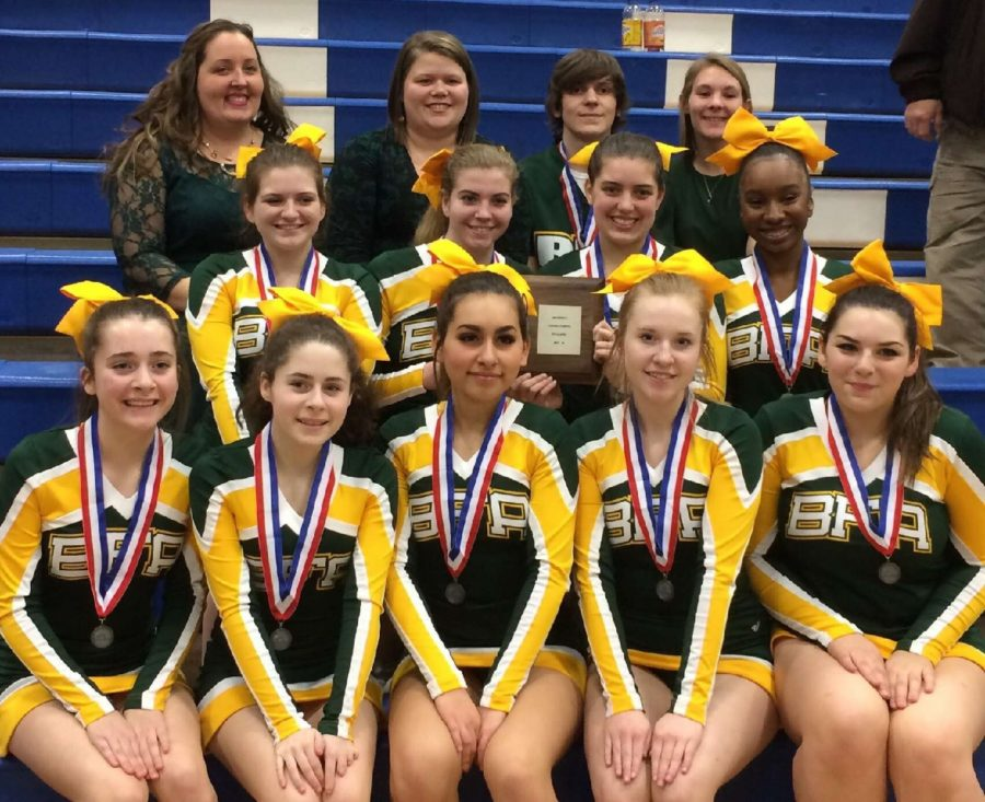 BFA cheerleaders earn trip to New Hampshire