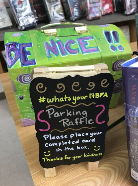 Positivity resulting in reward at BFA