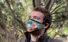 Doug Altshuler poses to promote the image of Masks4missions Photo credit:  Doug Altshuler