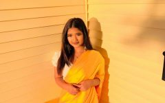 Ranjana Darjee in a typical Nepalese dress Photo credit:  Ranjana Darjee