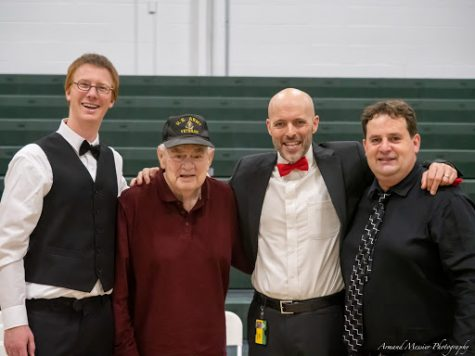 From Left: Rusty Charpentier, Verne Colburn, Eric Bushey and Armand Messier  Photo credit: Armand Messier Photography