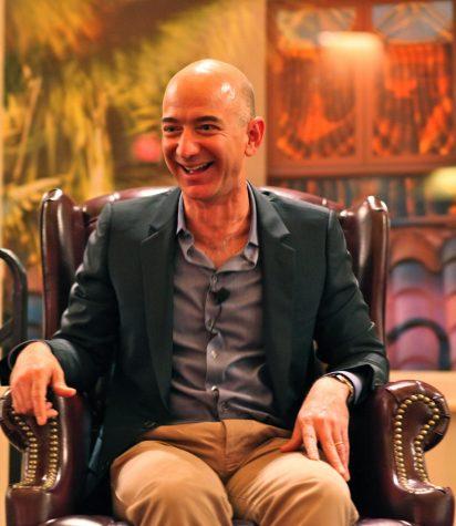 Jeff Bezos, CEO of Amazon Photo Credit: https://commons.wikimedia.org/wiki/File:Jeff_Bezos%27_iconic_laugh.jpg