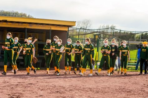 The BFA Comet softball team.  Photo credit:  Messenger photographer Ruthie Laroche