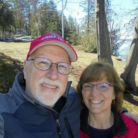 Gerald Bonsall with his wife, Pam.  Photo credit:  Gerald Bonsall