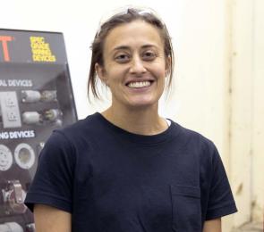 NCTCs new Building Trades teacher Danielle Bombardier