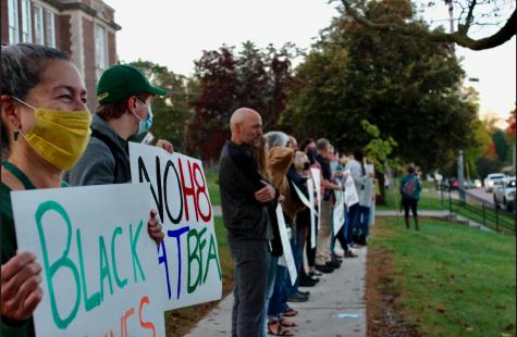 BFA teachers participate in Fridays event. Photo credit: Lyla Rouleau